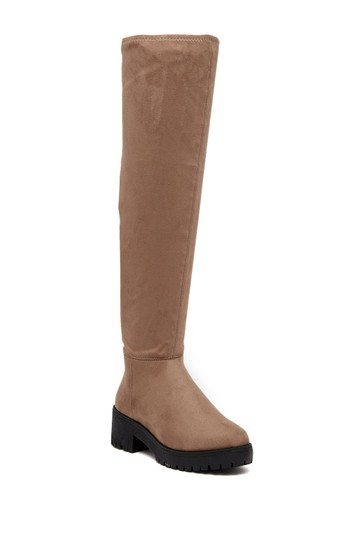 Coolway Brown Leather Winter taupe Boots Image 2