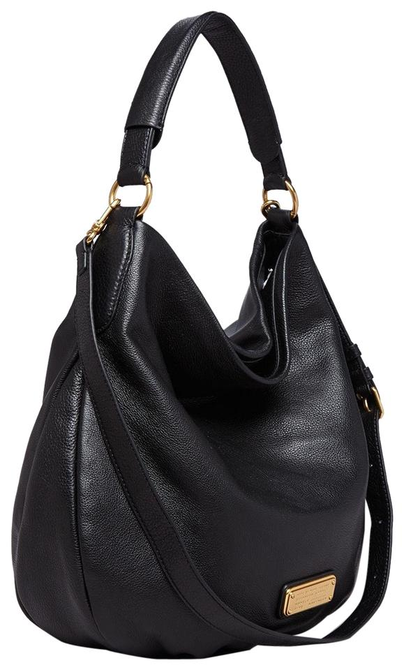 40ee22d007ff Marc By Jacobs Women S Q Hillier Black Leather Hobo Bag Tradesy