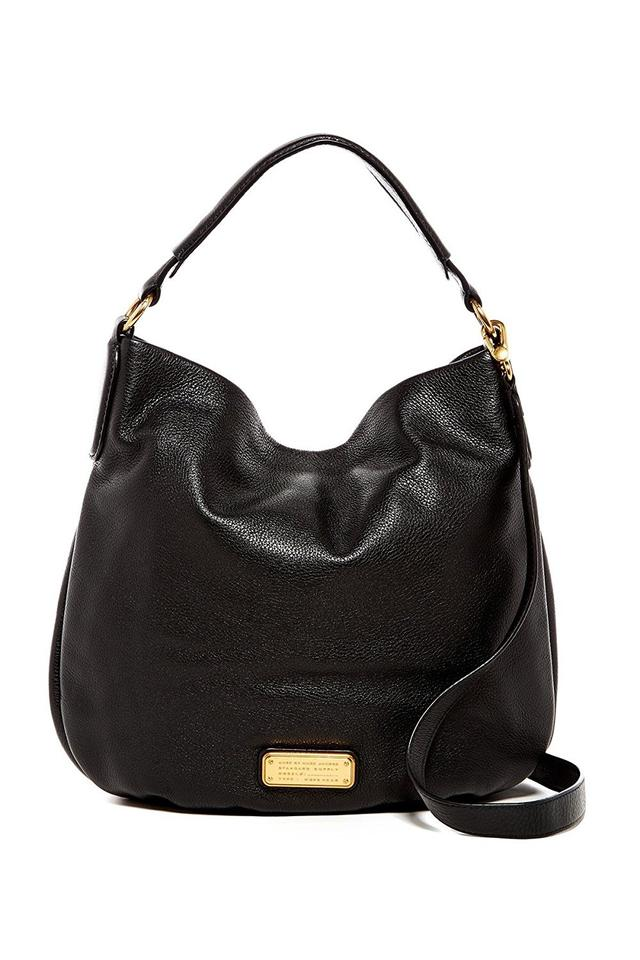 cbdf53c32563 Marc by Marc Jacobs Women s Q Hillier Black Leather Hobo Bag - Tradesy