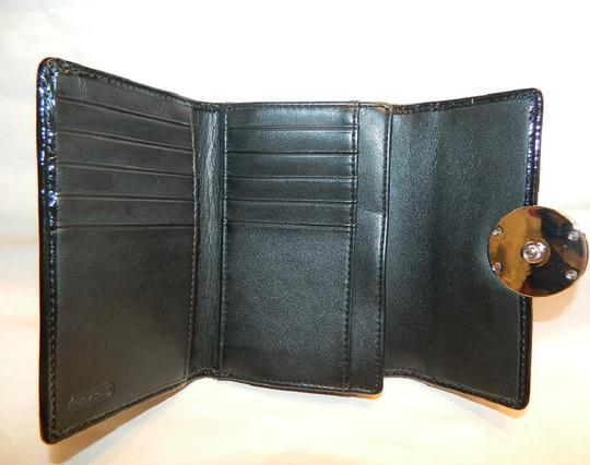 Coach ~Like New~Sold out COACH Alexandra Signature 3 Color Med Wallet Image 6