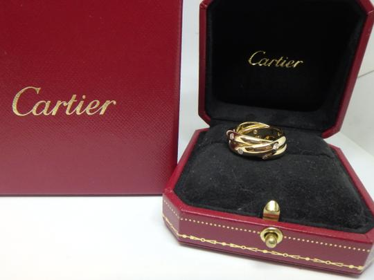 Cartier Cartier 3 band Trinity Ring 51, US 5.75 Image 1