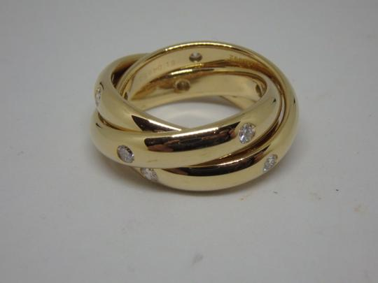 Cartier Cartier 3 band Trinity Ring 51, US 5.75 Image 3