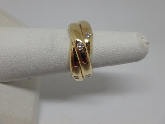 Cartier Cartier 3 band Trinity Ring 51, US 5.75 Image 4