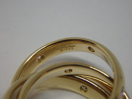 Cartier Cartier 3 band Trinity Ring 51, US 5.75 Image 6