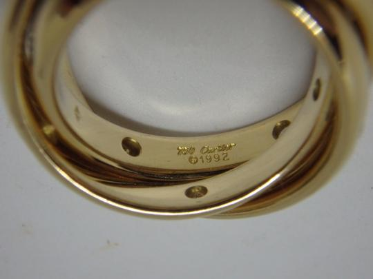 Cartier Cartier 3 band Trinity Ring 51, US 5.75 Image 7