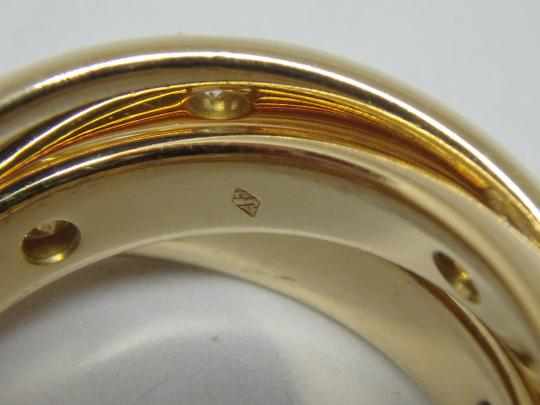 Cartier Cartier 3 band Trinity Ring 51, US 5.75 Image 8