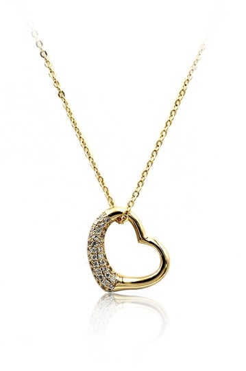 Preload https://img-static.tradesy.com/item/23437074/gold-925-cabinet-micro-crystal-heart-necklace-0-0-540-540.jpg
