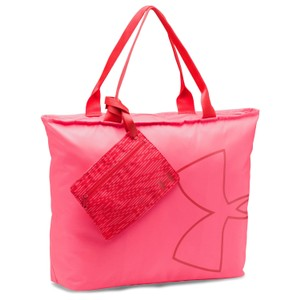 Under Armour Tote in Pink Shock (683) / Pomegranate