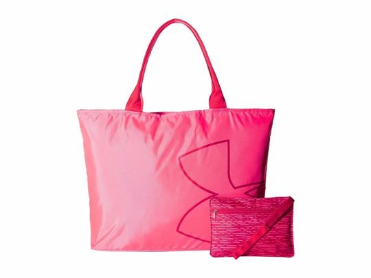 Under Armour Tote in Pink Shock (683) / Pomegranate Image 1