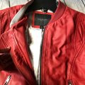 Andrew Marc Red Leather Jacket Image 3
