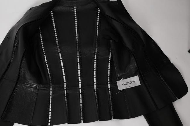 Valentino Cut-out Leather Jacket Image 10