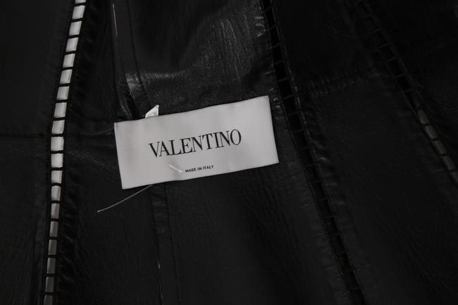 Valentino Cut-out Leather Jacket Image 11