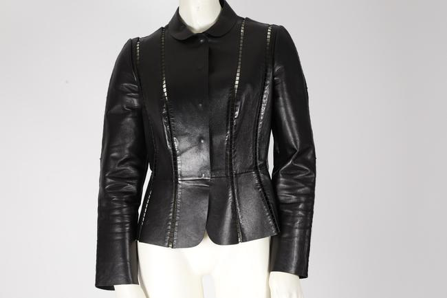Valentino Cut-out Leather Jacket Image 4