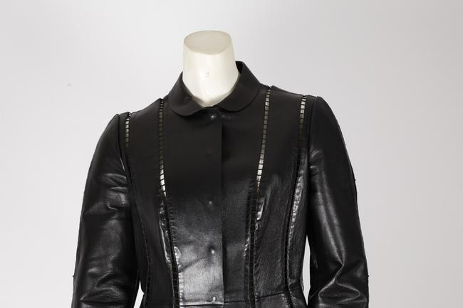 Valentino Cut-out Leather Jacket Image 6