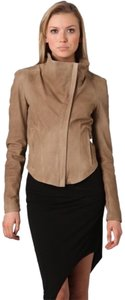 Helmut Lang Tan Leather Jacket