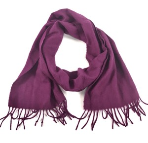 Coach Coach Wool Cashmere Scarf with Fringe