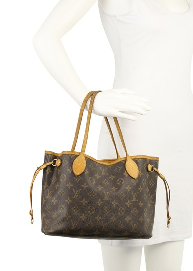 Louis Vuitton Neverfull Mm Damier Neverfull Cheapest Neverfull Neverfull Best Neverfull Deal Tote in Brown Image 11