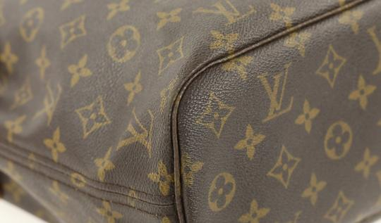Louis Vuitton Neverfull Mm Damier Neverfull Cheapest Neverfull Neverfull Best Neverfull Deal Tote in Brown Image 4