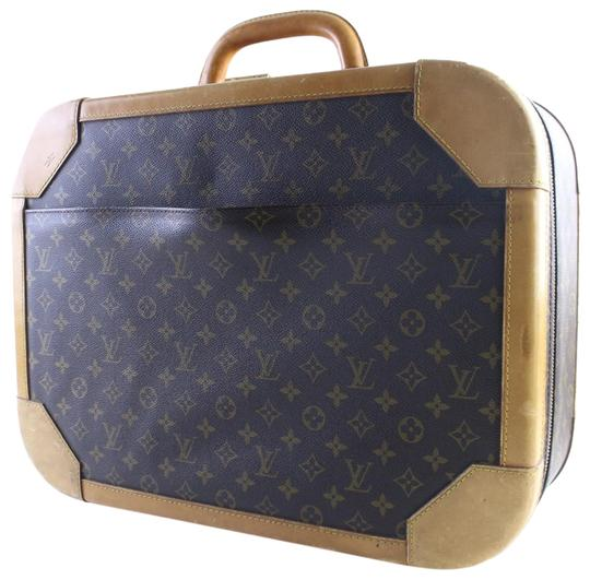 Preload https://img-static.tradesy.com/item/23437530/louis-vuitton-monogram-stratos-hard-luggage-17lr0529-brown-coated-canvas-weekendtravel-bag-0-2-540-540.jpg