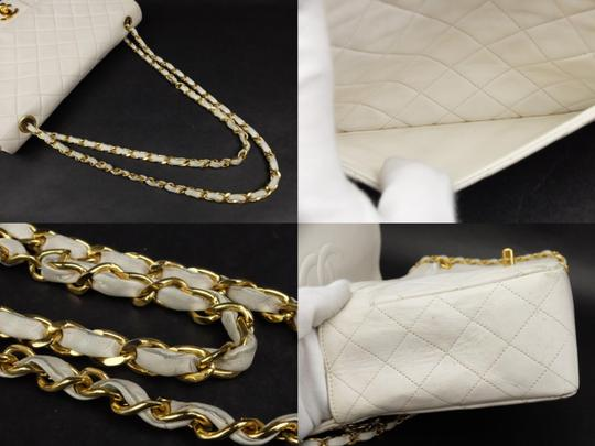 Chanel Classic Flap Jumbo Double Caviar Shoulder Bag Image 7