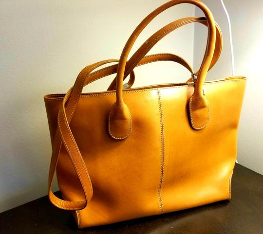 Tod's Leather Leather Leather Satchel in Tan Image 2