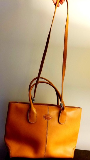 Tod's Leather Leather Leather Satchel in Tan Image 4