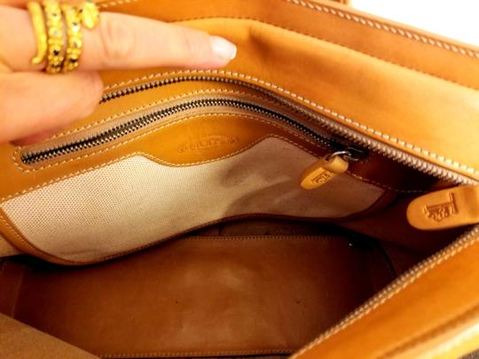 Tod's Leather Leather Leather Satchel in Tan Image 5