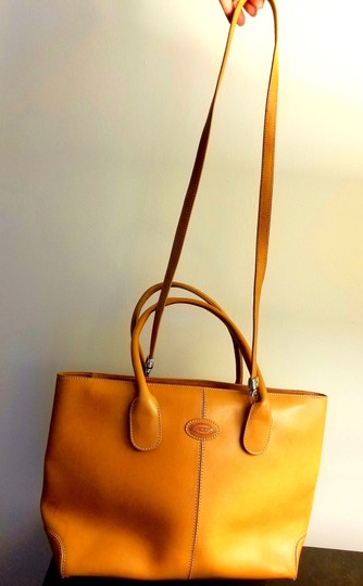 Tod's Leather Leather Leather Satchel in Tan Image 7