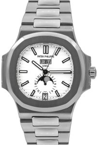 Patek Philippe Patek Philippe Nautilus, Stainless Steel, 41 mm, 2015, with Papers