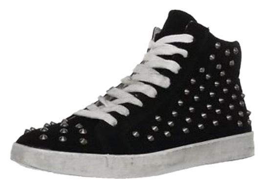 Preload https://img-static.tradesy.com/item/23438072/steve-madden-black-studded-distressed-suede-sneaker-sneakers-size-us-75-regular-m-b-0-1-540-540.jpg