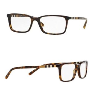 Burberry Rectangular Tortoise Eyeglass Frames