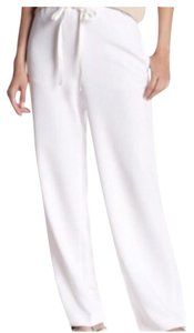Theory Summer Comfortable Preppy Relaxed Pants White