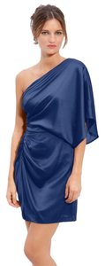 Aidan Mattox One Shoulder Dress