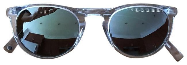Item - Clear with Mirrored Lenses Sunglasses