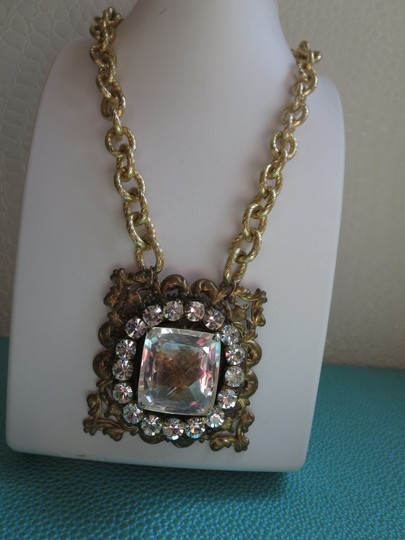 Glamarella Jewelry crystal statement necklace Image 1