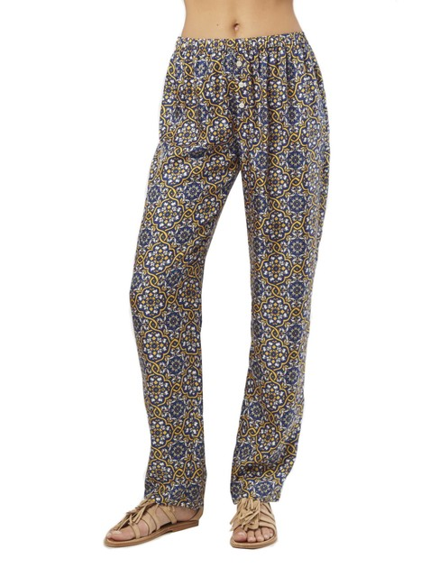 Preload https://img-static.tradesy.com/item/23438488/nieves-lavi-azulejo-pajama-relaxed-fit-pants-size-2-xs-26-0-0-650-650.jpg