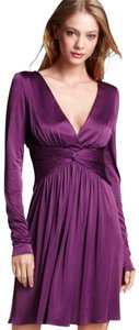 BCBGMAXAZRIA Jersey Purple Dress