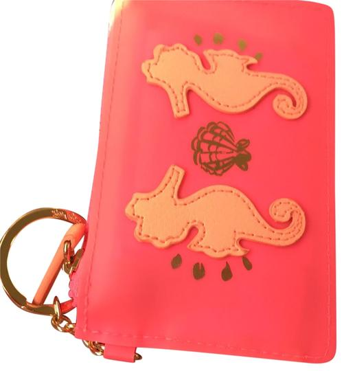 Preload https://img-static.tradesy.com/item/23438505/lilly-pulitzer-pink-seahorse-key-chain-card-case-wallet-0-3-540-540.jpg