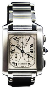 Cartier Cartier Tank Francaise Chronograph Stainless Steel 28mm 2303