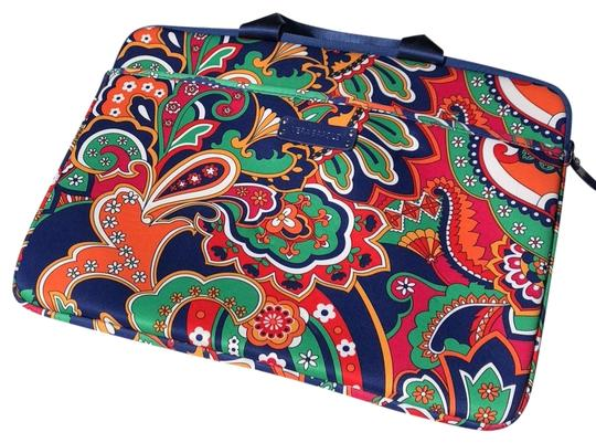 Preload https://img-static.tradesy.com/item/23438800/vera-bradley-bright-paisley-blue-with-green-red-pink-orange-yellow-and-white-laptop-bag-0-1-540-540.jpg