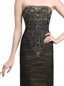 Sue Wong Prom Evening Beaded Sequin Cocktail Dress