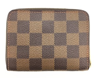 caa8a7c88a64 Louis Vuitton Louis Vuitton Damier Ebene Zippy Coin Purse Wallet