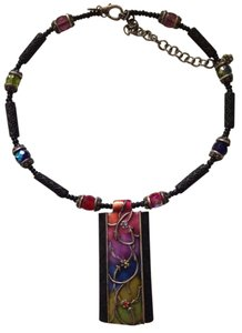 Chico's Chico's colorful structured necklace