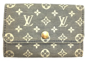 Louis Vuitton Mini Lin Monogram idylle Trifold 6 Ring Key Holder