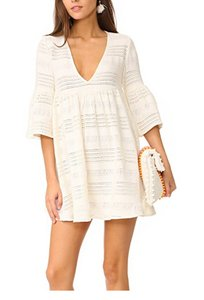 Mara Hoffman Mara Hoffman Mini Dress Woven Coverup NWT