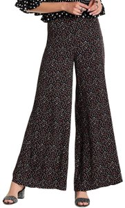 Free People Wide Leg Pants Black