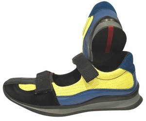 Prada Unique Yellow, Blue, Black Athletic
