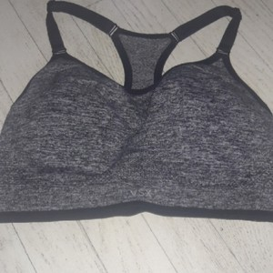 Victoria's Secret Grey and Black Padded NWOT