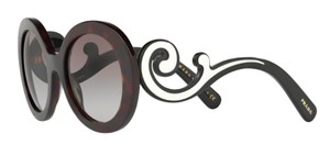 Prada Free 3 Day Shipping Prada Large Round Baroque Sunglasses SPR08T 2AU0A7