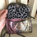 Betsey Johnson Wristlet in Grey, Pink, Green Image 4